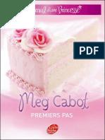 Journal d'Une Princesse T2 Premiers Pas - Cabot, Meg