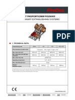 DATA SHEET FireDos FD25000 Stationary