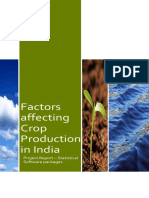 Natural Factors Affecting Crop Production in India Edit