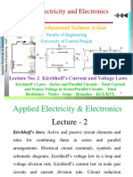Lecture-02 KCL-KVL - Series Parallel Circuits - Nodes - Loops - Branches