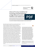 Hypertension in Children  Clinical Practice Guidelines (2017)