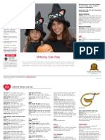LW5774 Witchy Cat Hat Free Crochet Pattern