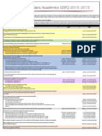 Calendario Academico Ano Academico 2018-2019