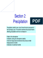 Hydrology Precipitation