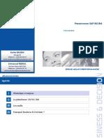 Présentation SAP BO BI4 - V2013