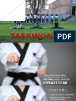 Taekwondo Presentacion