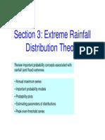 Hydrology Precipitation Stats