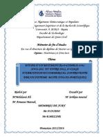 Etude d'un batiment (R+8+comble avec sous-sol et entré sol), a usage d'ahbitation commercial contrevente par un système mixte(voile portique).pdf