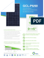 Módulos fotovoltaico
