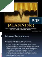 Planning Edit