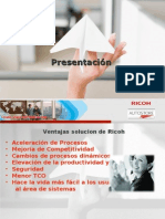 Ricoh Chile-Autostore Presentacion Producto