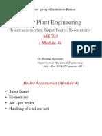 Module 4 - Boiler Accessories, Super Heater