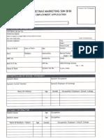 Application Form 2018