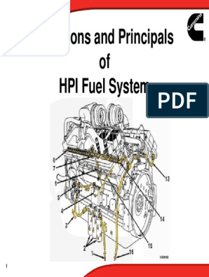KOMATSU HPI pdf | Fuel Injection | Throttle