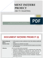 Project Charter FedX Moise Mihai