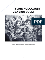 Bob Dylan Holocaust Denying Scum