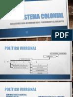 Sistema Colonial Del Perú