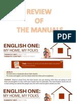Review of Manual
