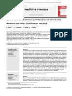 Neumonía Asociada a La Ventilación Mecánica ARTICULO