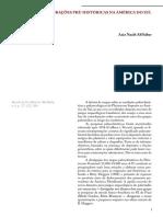 Paleoclimas e Migrações Pre-históricas Na América Do Ssul AB Saber