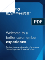 Sapphire Preferred Product Benefits Guide