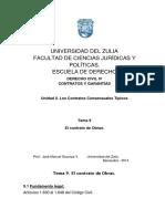 9- El Contrato de Obras 2014