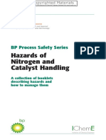 Preview of Hazards of Nitrogen and Catalyst Handling