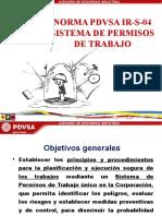 1 Norma Ir-s-04 Sistema de Permisos de Trabajo