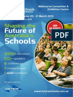 National Future Schools Expo & Conference Brochure