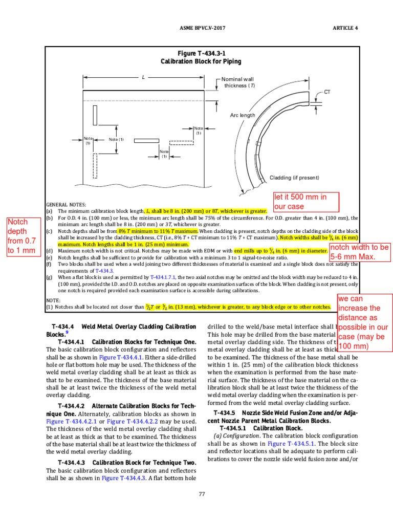 Piping TCG Caliberation Block | Welding | Building Engineering