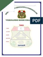 Portada Fernando Rossi E.