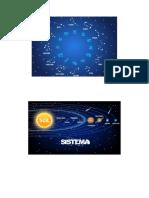 constelaciones y sistema solar