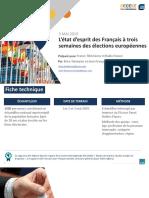 SONDAGE - 40 % des Français ont l'intention d'aller voter aux élections européennes