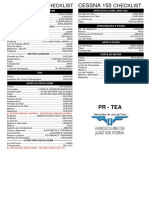 Checklist Cessna 150