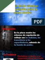 Análisis de Los Sistemas de Regulación Para La