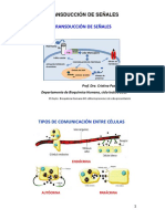 Teórico 6 Dra. Paz - Transduccion de Señales - 2019