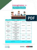 Cronograma de Actividades2