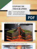 Expose de Petrographie