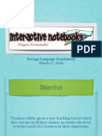 interactive notebooks presentation