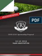 Proposal Sponsorship Royal Golf