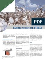 Fabricacion-De-hilo Control 2 Resumen 1