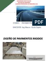 Diseño de Pavimento Rigido