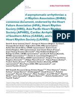 Management of Asymptomatic Arrhythmias