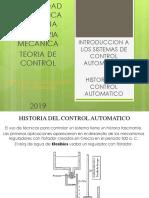 1.-Historia Del Control Automatico