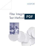 Millipore Filter Integrity Test Methods