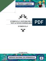 Evidencia 5 Estudio de Casos Situaciones Empresariales