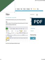Excel Ribbon - Easy Excel Tutorial