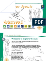 Explorer Scouts Adventure Skills