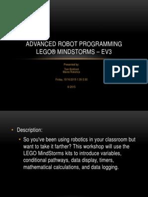 advanced_ev3_robot_programming pdf | Data Type | Array Data