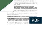 Características y Clases de Flagrancia Delictiva